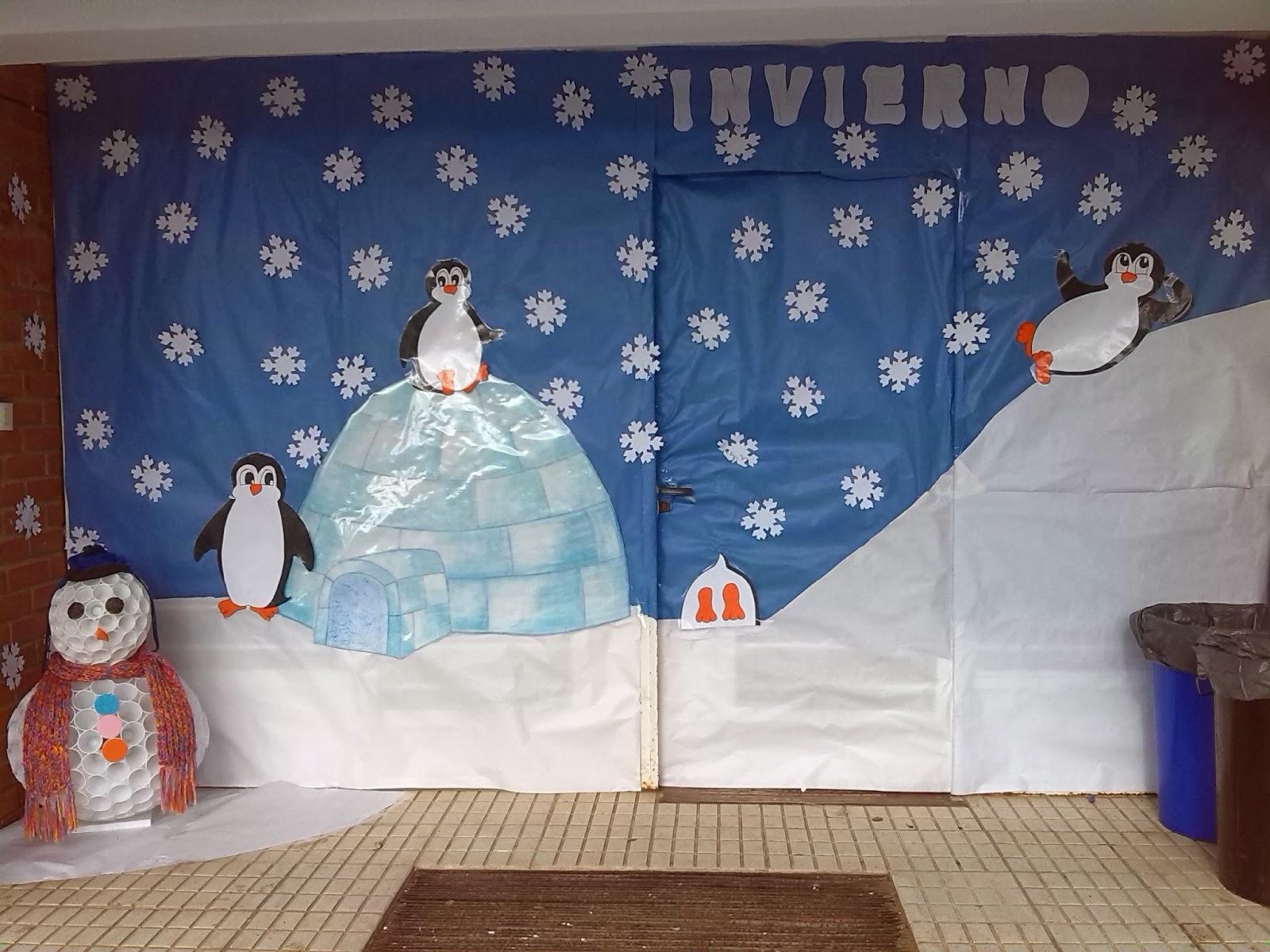 Educaci n infantil ceip padre manjon nuestra puerta de - Proyecto el invierno ...