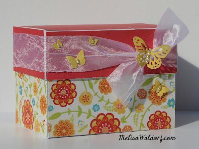 Gift Card Storage Box
