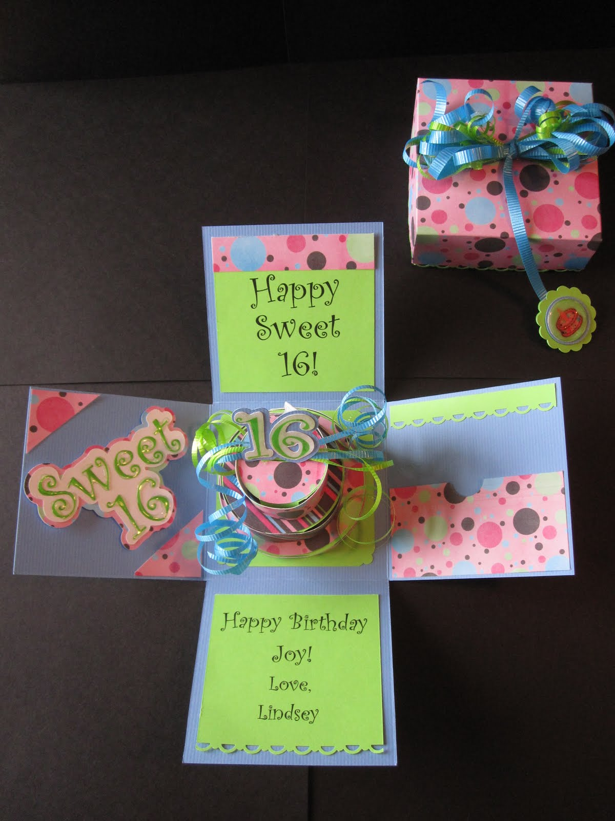 PAPERPASTIME: Cake in a Box