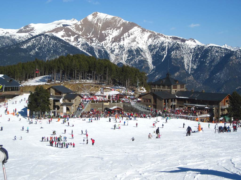 beautiful places of barcelona and catalonia: andorra: vallnord pal