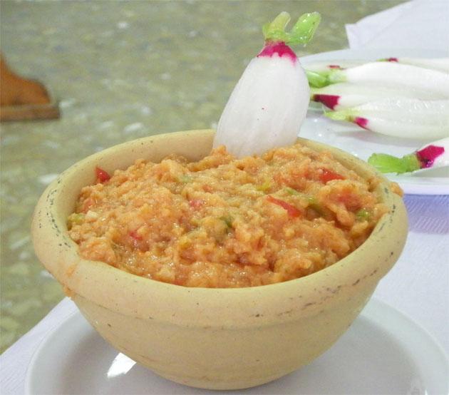 Ajo caliente de jerez tvcocina recetas gourmet for Cocina y alma jerez