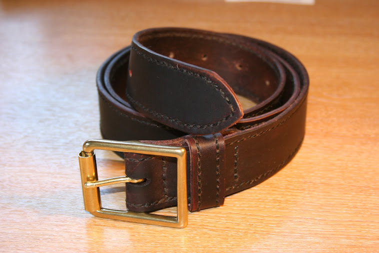 Hand Stiched Belt