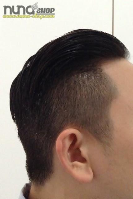 Hasil Memakai Minyak Rambut COCK GREASE HAIR POMADE - X