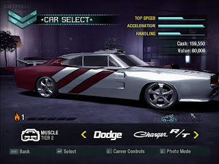 Need for speed carbon cars list
