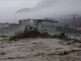 MAS DE 100 MUERTOS Y 160 DESAPARECIDOS EN CATASTROFICAS INUNDACIONES EN CHINA, 14 DE JULIO 2013