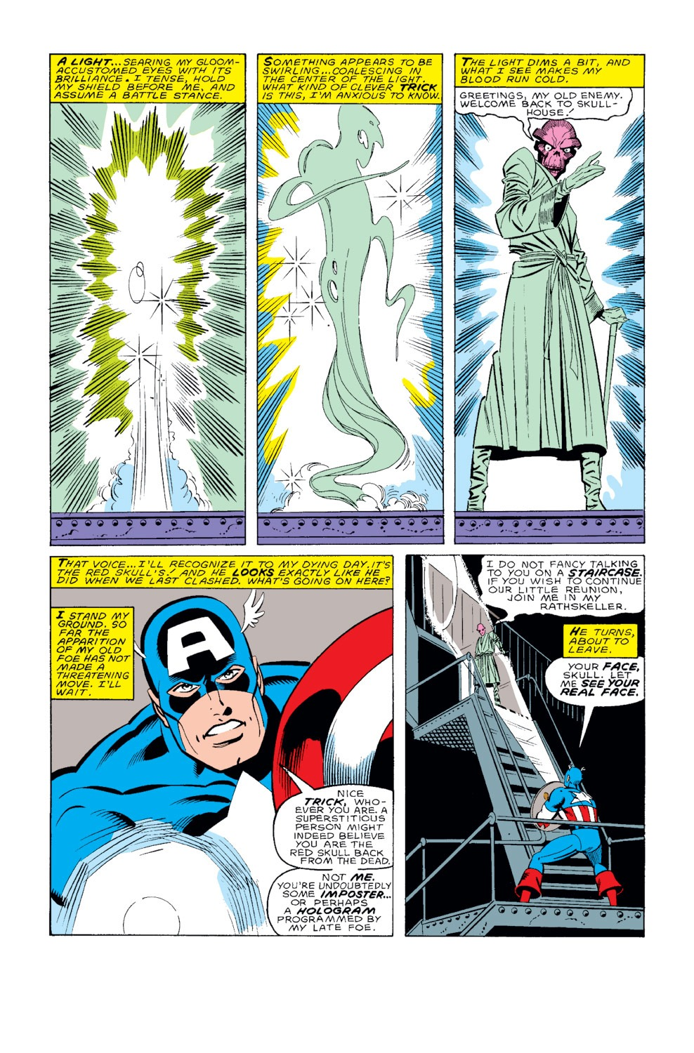 Captain America (1968) Issue #326 #255 - English 5