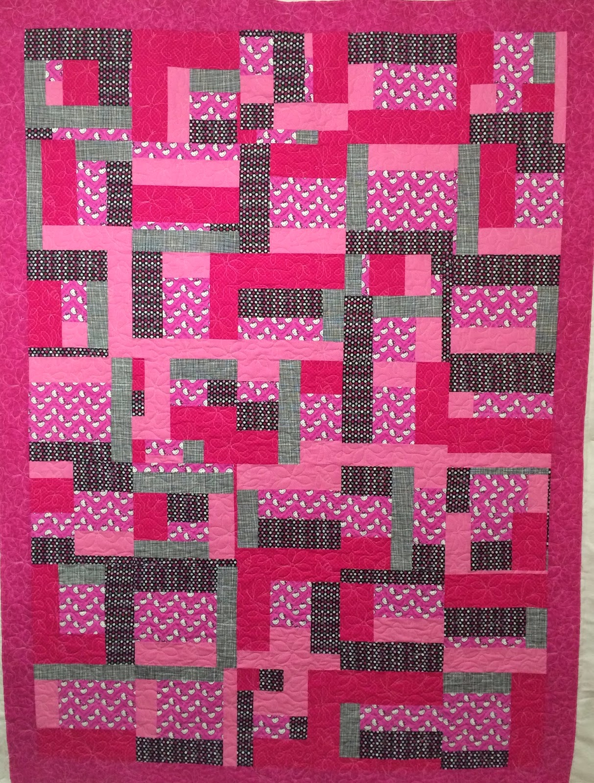 Kathy Moynihan's Hello Kitty Quilt