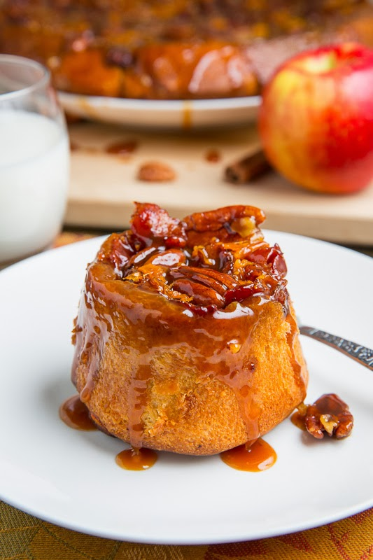 SweeTango Apple, Bacon and Cheddar Pecan Sticky Buns