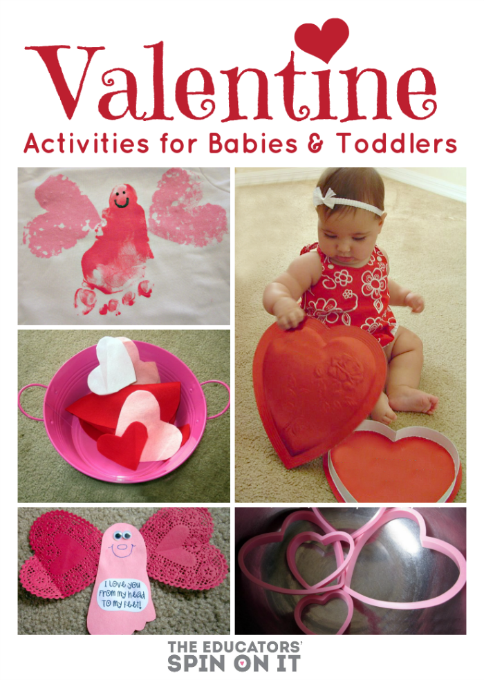 Valentine's Day Activities for Babies and Toddlers from The Educators' Spin On It