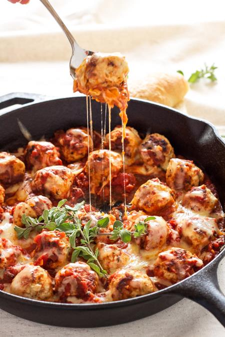 Hungry harps 25 delicious ways to celebrate national for Meatball canape