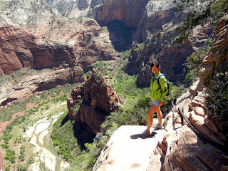 Hiking at Zion National Park