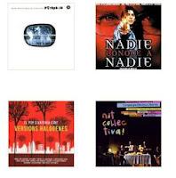 Minuaturas de los trabajos discográficos de Ricard Monné