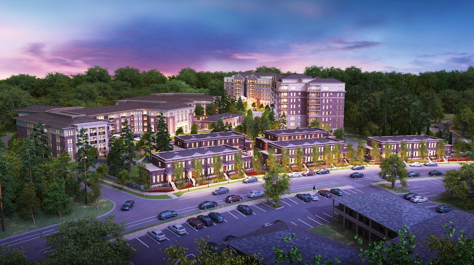 Buckheadviewnpu b approves land use zoning changes that for Camden paces townhomes