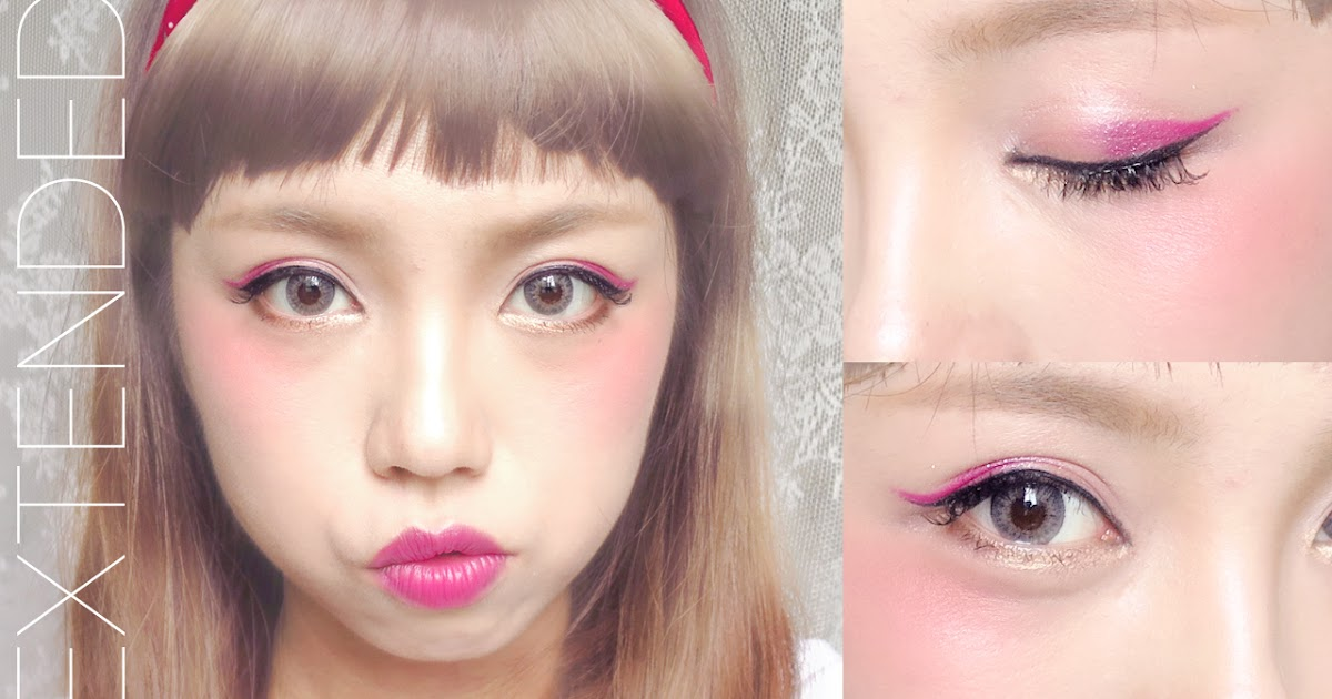 japanese harajuku makeup zipper inspired madokeki