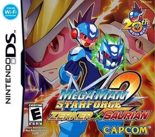 Mega Man Star Force 2: Zerker X Ninja/Saurian (Nintendo DS) (Español)