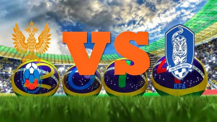 Prediksi Skor Piala Dunia Terjitu Rusia vs Korsel jadwal 18 Juni 2014