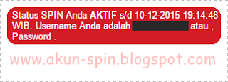 Akun SPIN Gratis! Aktif Oktober - Desember 2015
