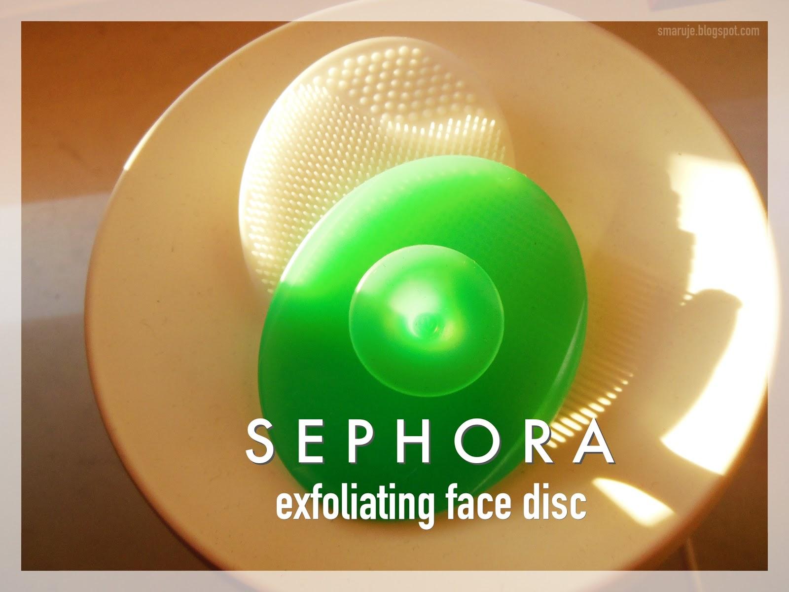 Mój mały wybawca: Sephora –Exfoliating Face Disc