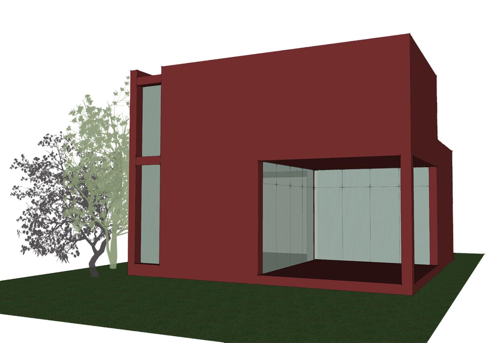 Progetti di case in legno casa 165 mq terrazza coperta - Prezzo intonaco esterno ...