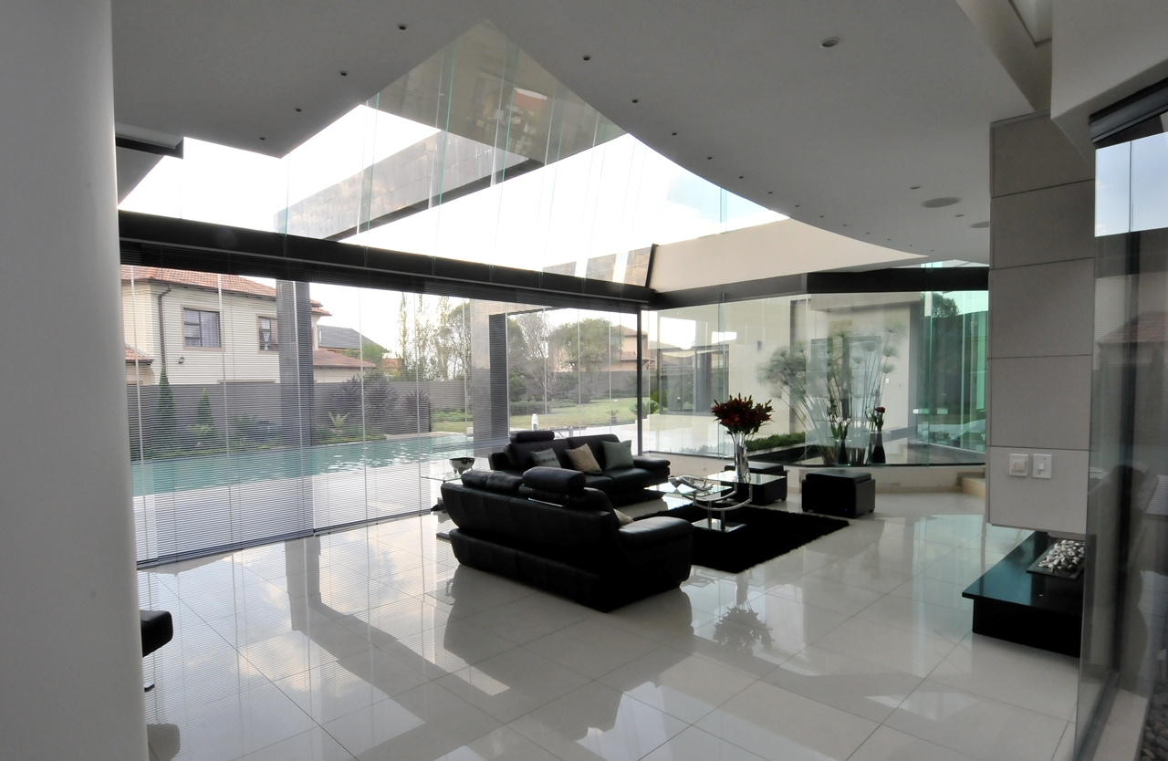 World of Architecture: Huge Modern Home In Hollywood Style ...