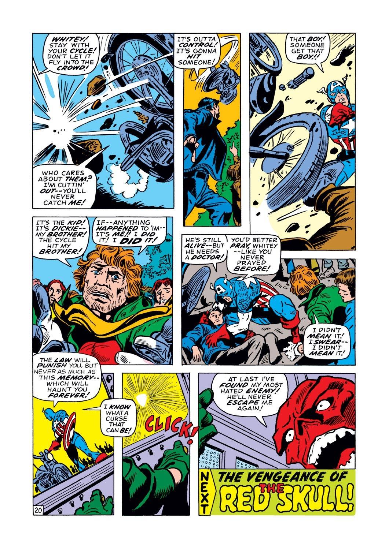 Captain America (1968) Issue #128 #42 - English 20