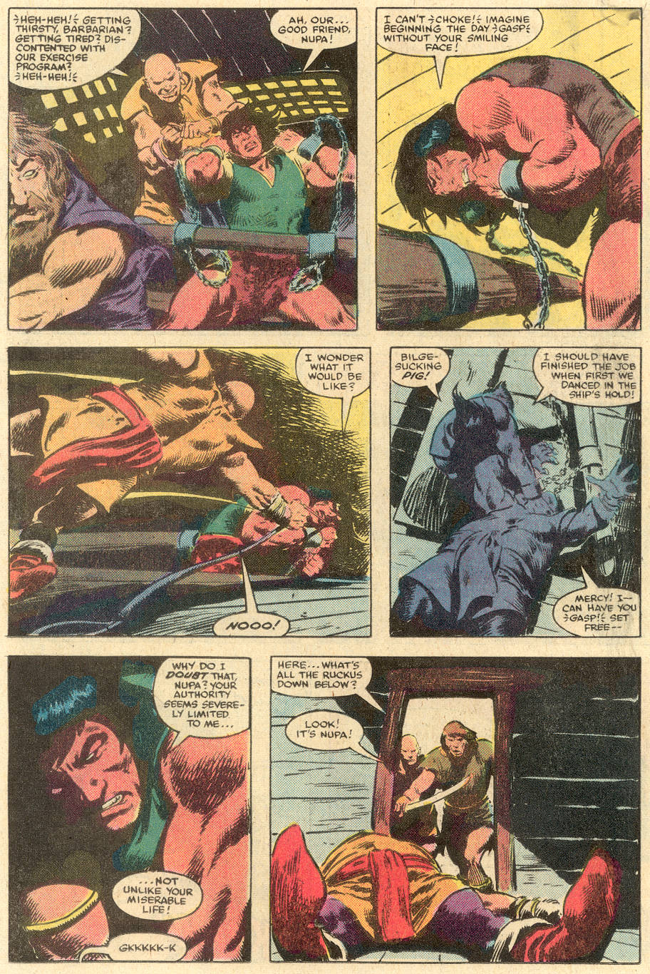 Conan the Barbarian (1970) Issue #140 #152 - English 13
