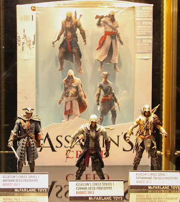 McFarlane Toys Assassin's Creed Toy Fair Display