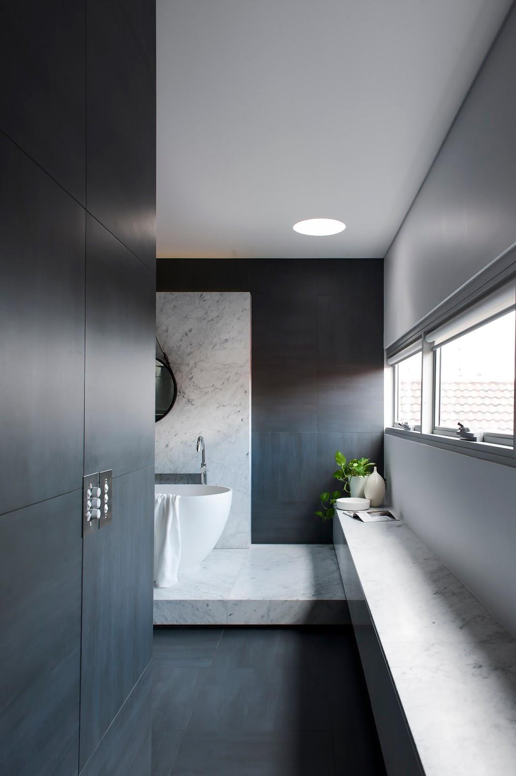 Minosa understated elegance creates a stunning bathroom for Modern white bathroom