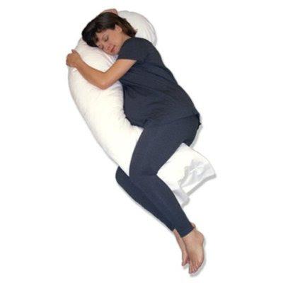Snoozer Full Body Pillow Hypoallergenic Synthetic Fiber Filler