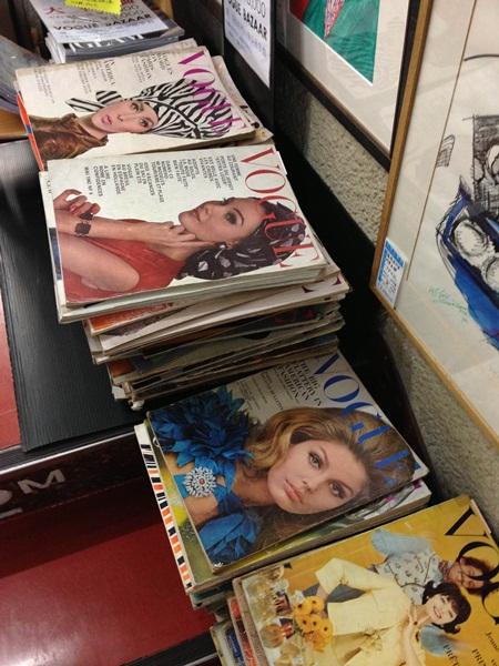 Jinbocho Revistas Antiguas