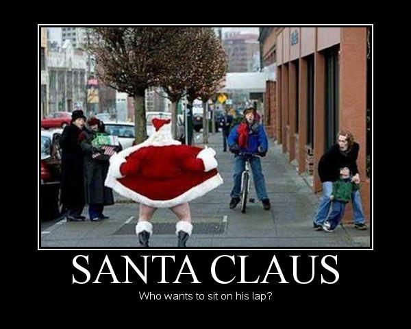Santa claus naked