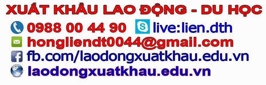 Xuất khẩu lao động - xuat khau lao dong - xuất khẩu lao động nhật bản - xuat khau lao dong nhat ban