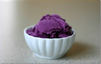 Concord Grape Sherbet