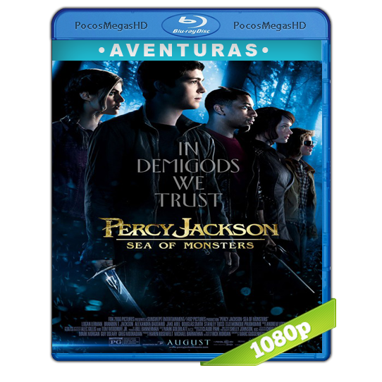 Percy Jackson: Y El Mar De Los Monstruos (2013) Full HD BRRip 1080p Audio Dual Latino/Ingles 5.1 (peliculas hd )