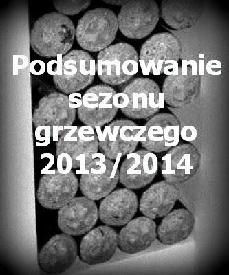 Podsumowanie Sezonu Grzewczego 2013/2014.