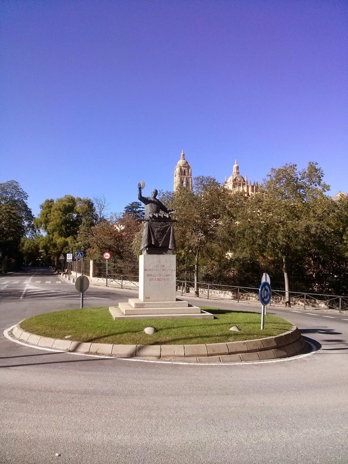 estatua candido