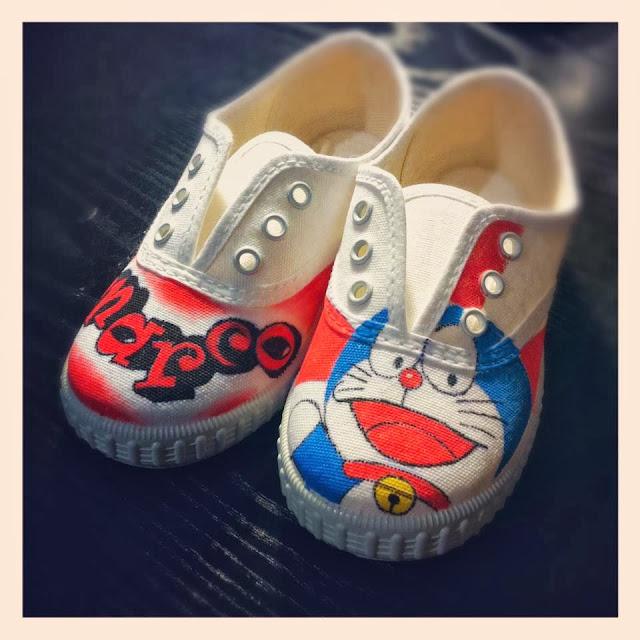 Zapatillas personalizadas Doraemon