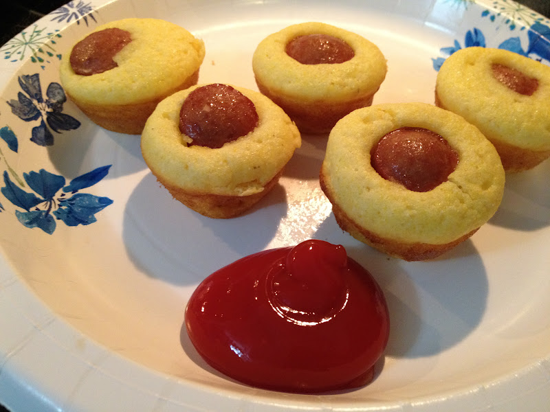 Gluten Free Corn Dog Muffins | I'm A Celiac