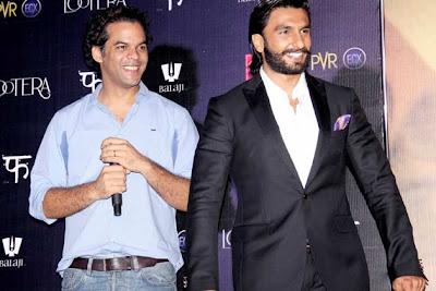 Sonakshi Sinha & Ranveer Singh at 'Lootera' Audio release event