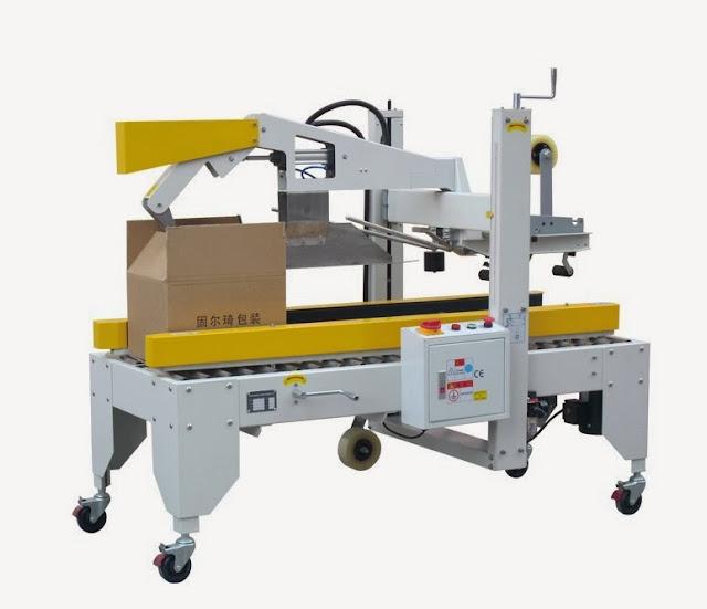 automatic carton sealer case sealing machine Automatische Kartonverschlussmaschine
