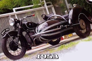 รถ1953 BMW R67/2 withSteib S350