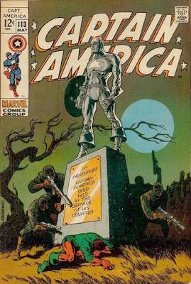 Portada de Captain America #113