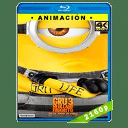 Gru 3. Mi villano favorito (2017) 4K UHD Audio Dual Latino-Ingles