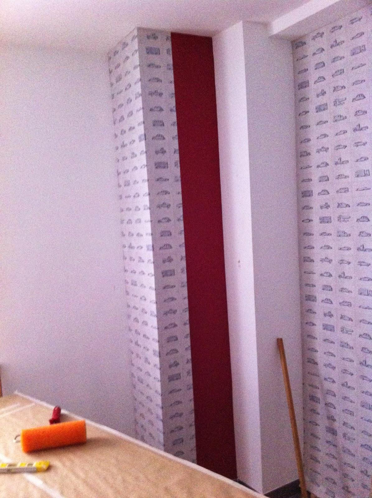 Decoraciones exposiciones y pinturas guzm n florentino - Como empapelar paredes ...