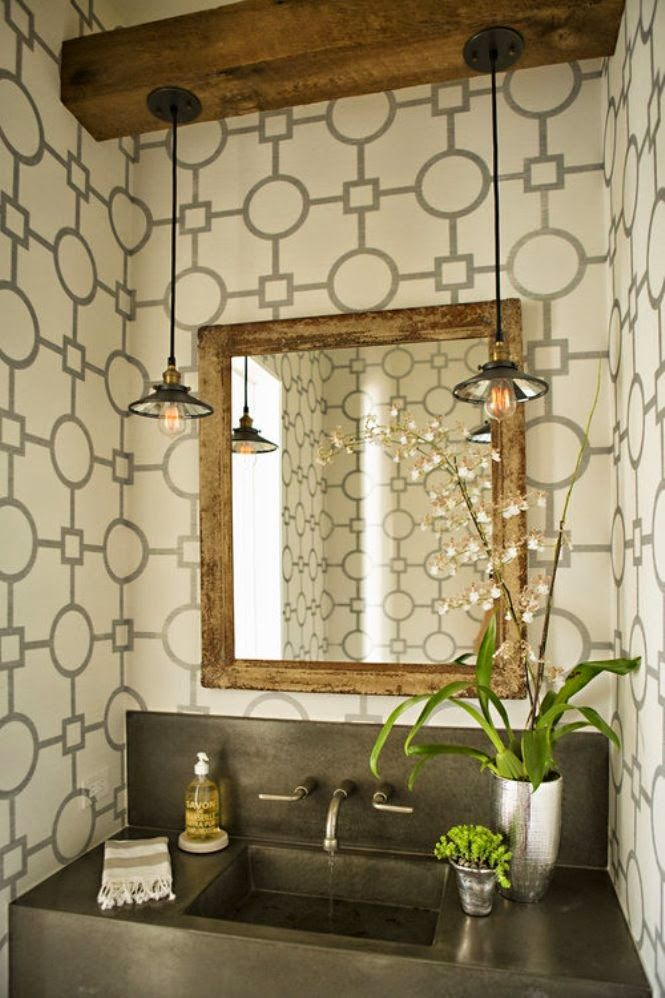 Powder Room Corner Light Fixtures