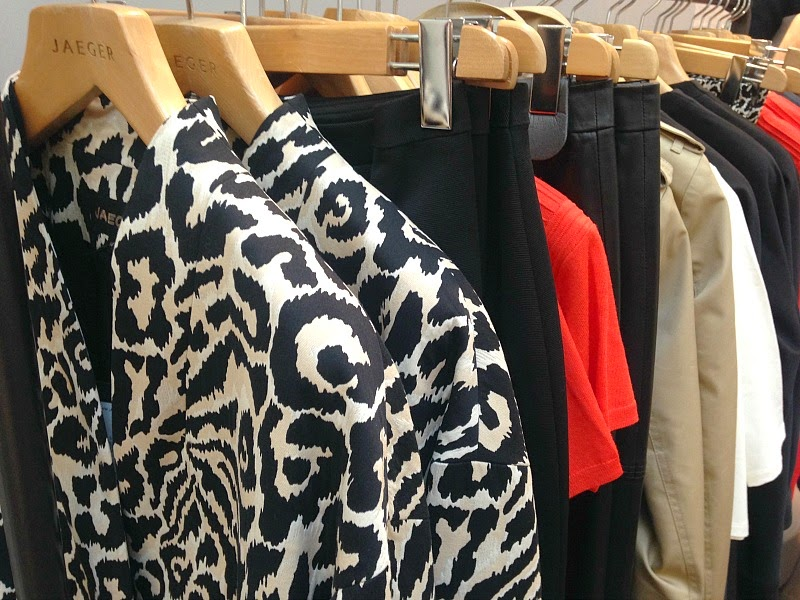 Jaeger safari print jacket s15