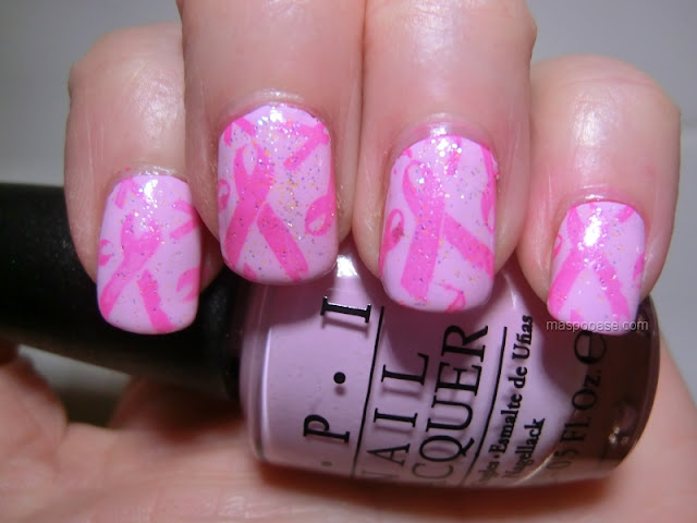 Breast Cancer Campaign Wear It Pink Bundle Monster Nail Art