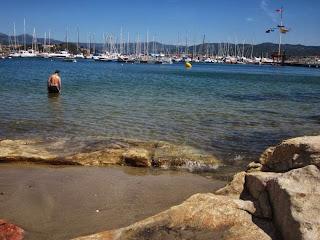 Barbeira beach in Baiona