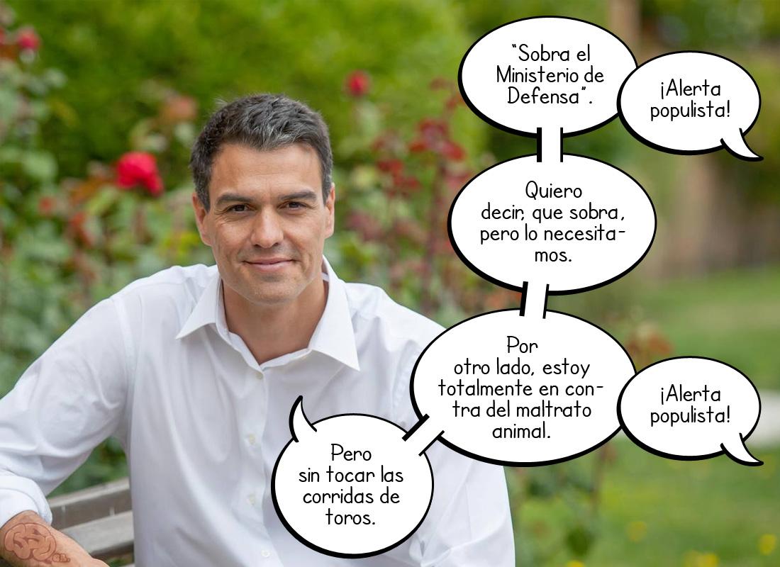 """Pedro """"El Matices"""" Sánchez"""