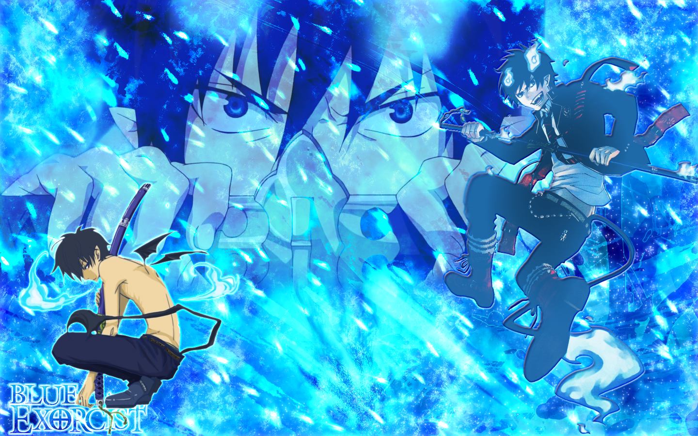 epic blue exorcist wallpaper - photo #13